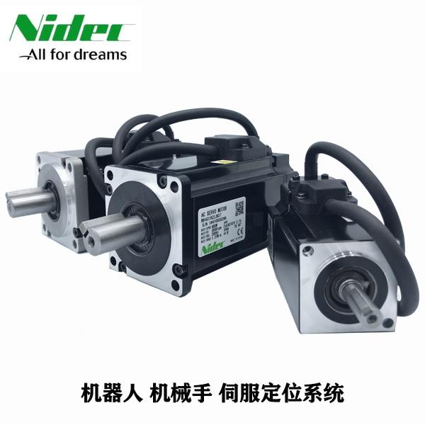 日本三协伺服电机型号 MM101N2SN01 100W电机光轴无油封
