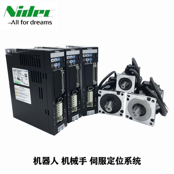 广东伺服电机 三协伺服电机 MA401A2LA18 400W刹车单电机 日本电产三协伺服 机器人专用马达